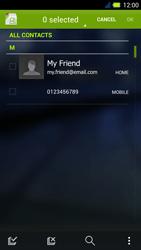 Acer Liquid E3 - MMS - Sending pictures - Step 5