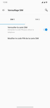 OnePlus 7T Pro - Sécuriser votre mobile - Personnaliser le code PIN de votre carte SIM - Étape 7