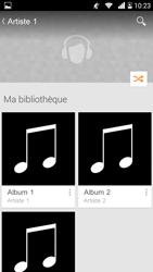 Bouygues Telecom Ultym 5 - Photos, vidéos, musique - Ecouter de la musique - Étape 7