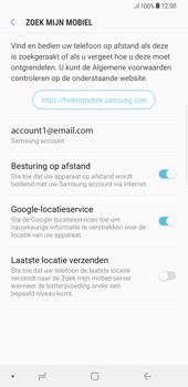 Samsung Galaxy S8 Plus - Android Oreo - Beveiliging en privacy - zoek mijn mobiel activeren - Stap 8
