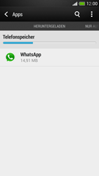HTC One Mini - Apps - Eine App deinstallieren - Schritt 5