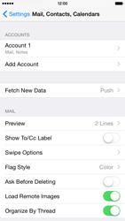 Apple iPhone 6 Plus - E-mail - Manual configuration - Step 30