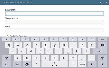 Samsung T535 Galaxy Tab 4 10.1 - E-mail - configurazione manuale - Fase 12