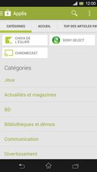 Sony Xpéria SP - Applications - Télécharger une application - Étape 6
