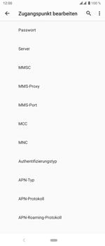 Sony Xperia 5 - MMS - Manuelle Konfiguration - Schritt 13