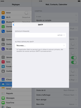 Apple iPad Air - E-mail - configuration manuelle - Étape 23