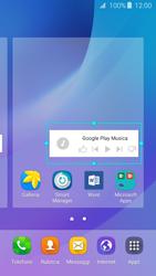 Samsung Samsung Galaxy J3 2016 - Operazioni iniziali - Installazione di widget e applicazioni nella schermata iniziale - Fase 8