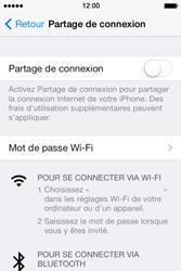Apple iPhone 4 - Internet et connexion - Utiliser le mode modem par USB - Étape 5