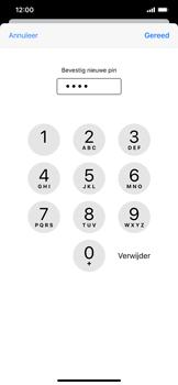 Apple iPhone XR - iOS 13 - Beveiliging - Stel de pincode voor je simkaart in - Stap 11
