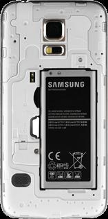 Samsung G800F Galaxy S5 Mini - SIM-Karte - Einlegen - Schritt 5