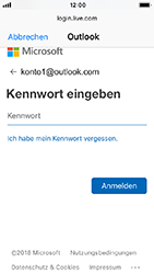 Apple iPhone 5s - iOS 12 - E-Mail - Konto einrichten (outlook) - Schritt 7