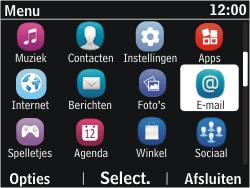 Nokia Asha 302 - E-mail - E-mails verzenden - Stap 3
