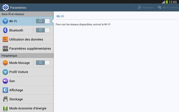 Samsung Galaxy Tab 3 10-1 LTE - Internet et roaming de données - Désactivation du roaming de données - Étape 4