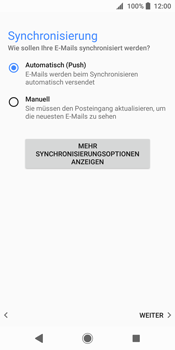 Sony Xperia XZ2 - E-Mail - Konto einrichten (outlook) - 14 / 19
