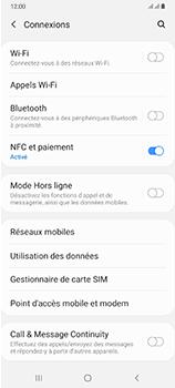 Samsung Galaxy A70 - Internet et connexion - Accéder au réseau Wi-Fi - Étape 5