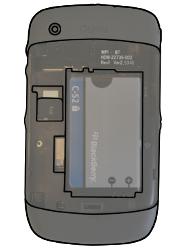 BlackBerry 8520 Curve - SIM-Karte - Einlegen - Schritt 5