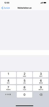 Apple iPhone XS Max - iOS 13 - Anrufe - Rufumleitungen setzen und löschen - Schritt 7