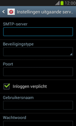 Samsung I8190 Galaxy S III Mini - E-mail - Account instellen (IMAP met SMTP-verificatie) - Stap 11