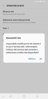 Samsung Galaxy Note9 - Rete - Selezione manuale della rete - Fase 11