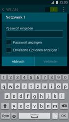 Samsung G800F Galaxy S5 Mini - WLAN - Manuelle Konfiguration - Schritt 7