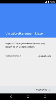 Motorola Nexus 6 - apps - account instellen - stap 6