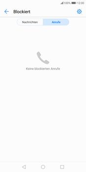 Huawei P Smart - Anrufe - Anrufe blockieren - 5 / 12