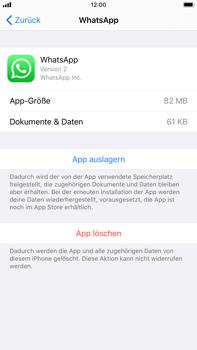 Apple iPhone 8 Plus - iOS 13 - Apps - Eine App deinstallieren - Schritt 6