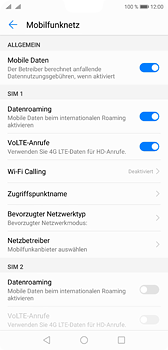 Huawei P20 - Ausland - Im Ausland surfen – Datenroaming - 9 / 11