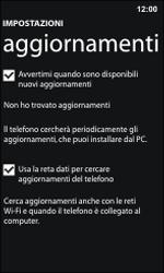 Nokia Lumia 800 / Lumia 900 - Software - Installazione degli aggiornamenti software - Fase 6