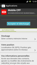 Sony Xperia U - Applications - Installation d