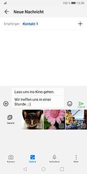 Huawei Mate 10 Pro - Android Pie - MMS - Erstellen und senden - Schritt 15