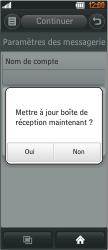 LG BL40 New Chocolate - E-mail - Configuration manuelle - Étape 12