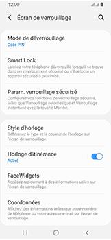 Samsung Galaxy A40 - Sécuriser votre mobile - Activer le code de verrouillage - Étape 13