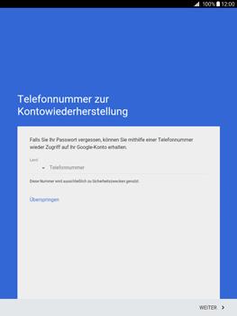 Samsung Galaxy Tab A 9.7 - Apps - Konto anlegen und einrichten - 11 / 18