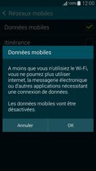 Samsung G850F Galaxy Alpha - Internet - Désactiver les données mobiles - Étape 7