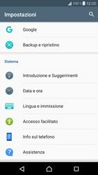 Sony Xperia X Compact - Software - Installazione degli aggiornamenti software - Fase 5