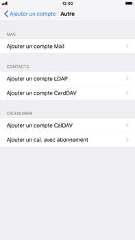 Apple iPhone 8 Plus - iOS 12 - E-mail - Configuration manuelle - Étape 6
