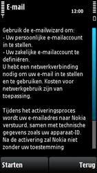 Nokia X6-00 - e-mail - handmatig instellen - stap 8