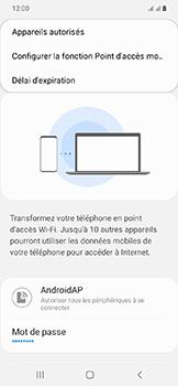 Samsung Galaxy A20e - Internet - comment configurer un point d'accès mobile - Étape 8