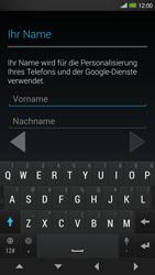 HTC One Max - Apps - Konto anlegen und einrichten - 5 / 22