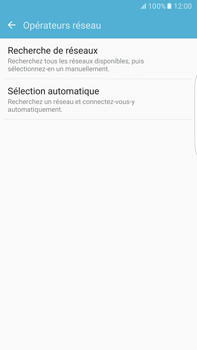Samsung Samsung G928 Galaxy S6 Edge + (Android M) - Réseau - Sélection manuelle du réseau - Étape 6
