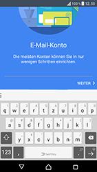 Sony Xperia XZ - E-Mail - Konto einrichten - 7 / 25