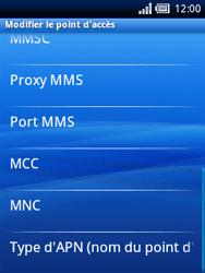Sony Xperia X10 Mini - MMS - Configuration manuelle - Étape 10