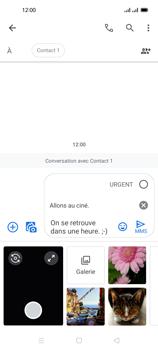 Oppo Reno 4 Pro - Contact, Appels, SMS/MMS - Envoyer un MMS - Étape 16