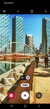 Samsung Galaxy A20e - Photos, vidéos, musique - Créer une vidéo - Étape 10