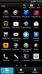 HTC One X - Applicazioni - Installazione delle applicazioni - Fase 4
