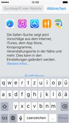 Apple iPhone 5c iOS 9 - Internet und Datenroaming - Verwenden des Internets - Schritt 4