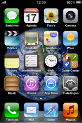 Apple iPhone 3G S met iOS 5 - bluetooth - aanzetten - stap 1