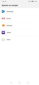 Huawei P30 - E-mails - Ajouter ou modifier votre compte Outlook - Étape 5