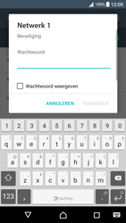 Sony Xperia XA (F3111) - Android Nougat - Wi-Fi - Verbinding maken met Wi-Fi - Stap 7